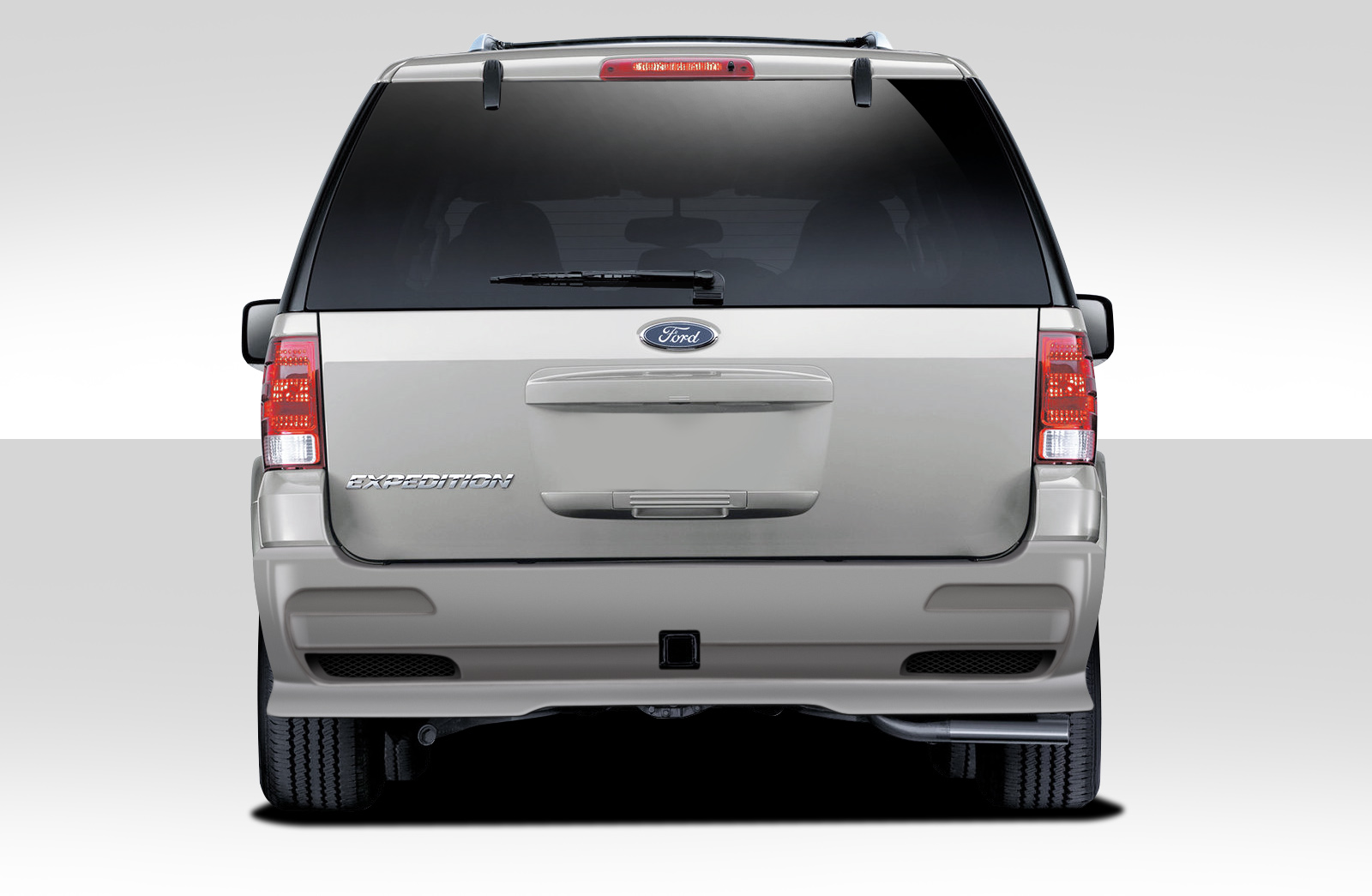 Welcome To Extreme Dimensions Inventory Item   Ford Expedition Duraflex Bt  Rear Bumper Cover  Piece