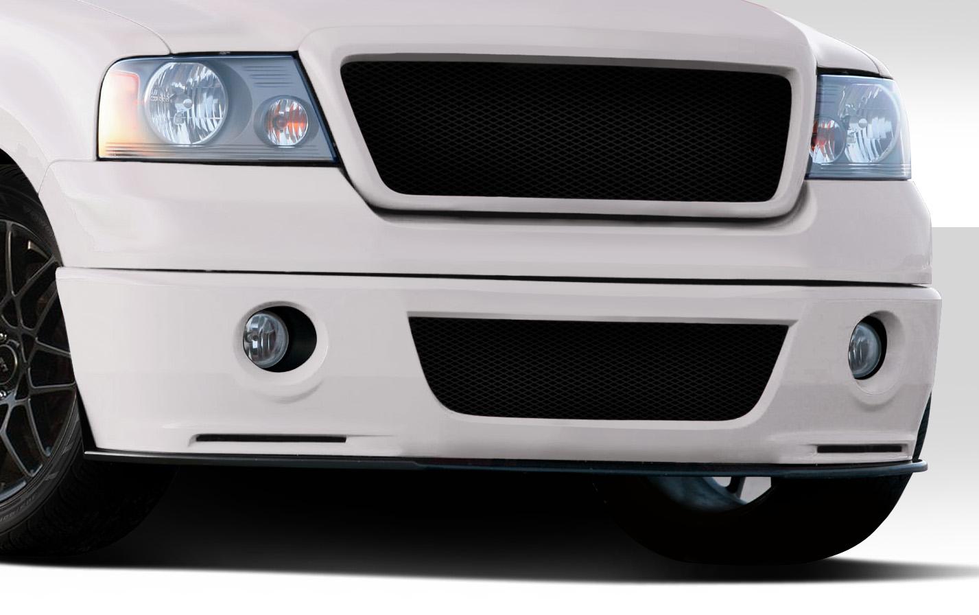 04 08 ford f150 super snake duraflex front bumper lip body kit 112219 ebay. Black Bedroom Furniture Sets. Home Design Ideas