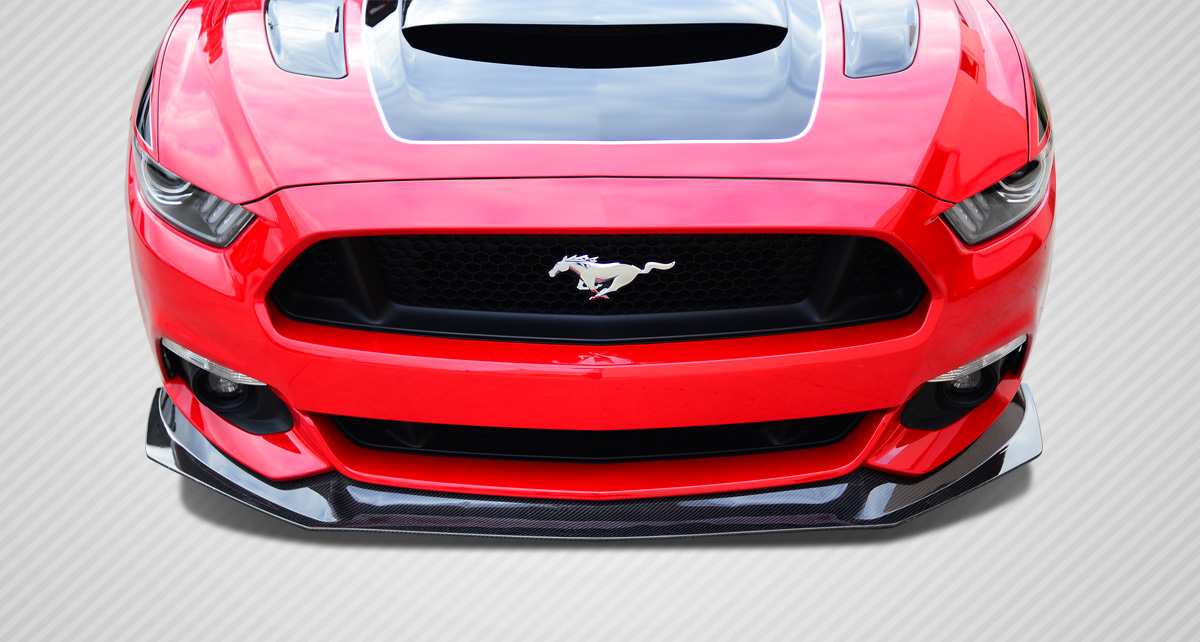Welcome To Extreme Dimensions Inventory Item 2017 Ford Mustang Carbon Creations Gt Concept Front Lip Under Air Dam Spoiler 1 Piece