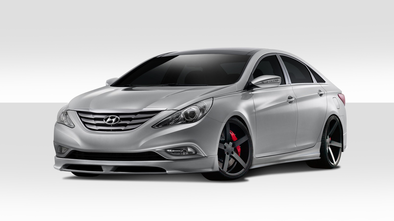 Image Is Loading 11 13 Fits Hyundai Sonata Racer Duraflex Full