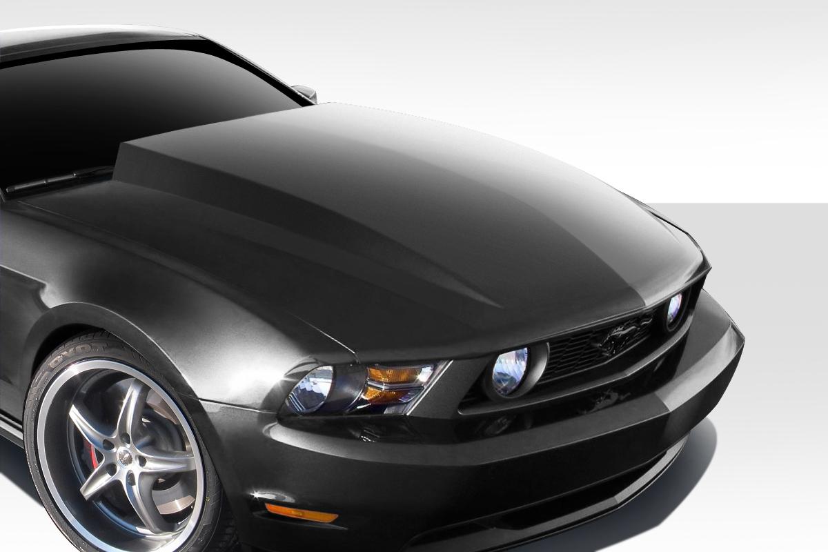 fiberglass hood body kit for 2011 ford mustang 2010. Black Bedroom Furniture Sets. Home Design Ideas