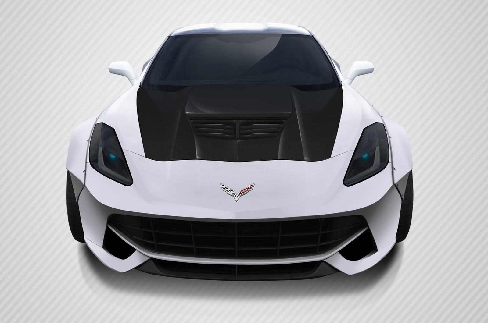 2016 Chevrolet Corvette ALL Hood Bodykit - Chevrolet Corvette Carbon Creations Z06 Look Hood- 1 Piece