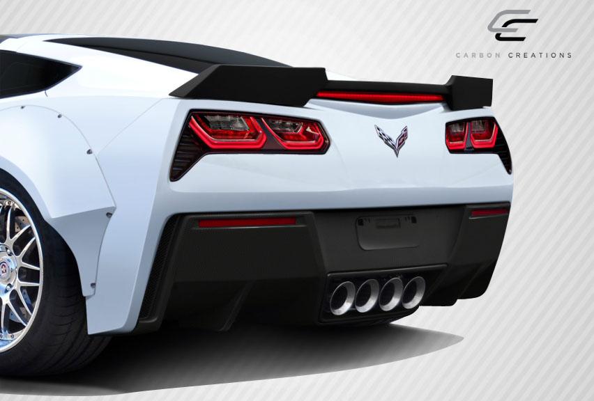 2016 Chevrolet Corvette ALL - Carbon Fiber Fibre Body Kit Bodykit - Chevrolet Corvette C7 Carbon Creations GT Concept Body Kit - 4 Piece - Includes GT