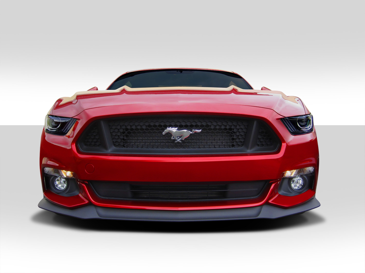 15 16 ford mustang performance duraflex front bumper lip. Black Bedroom Furniture Sets. Home Design Ideas