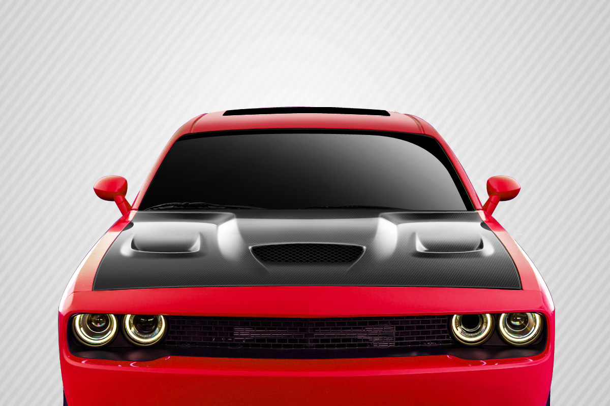 Welcome to extreme dimensions inventory item 2008 2017 dodge welcome to extreme dimensions inventory item 2008 2017 dodge challenger carbon creations hellcat look hood 1 piece vanachro Gallery