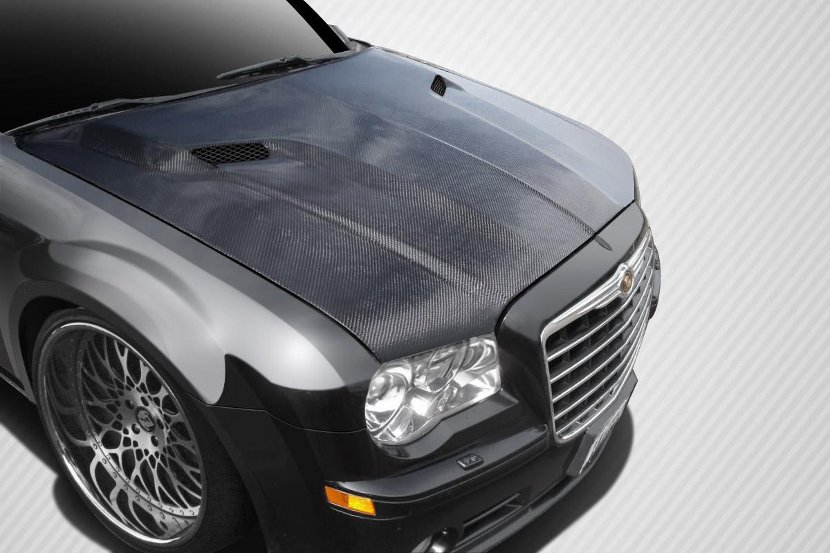 2009 Chrysler 300 Carbon Fiber Hood Body Kit 2005 2010