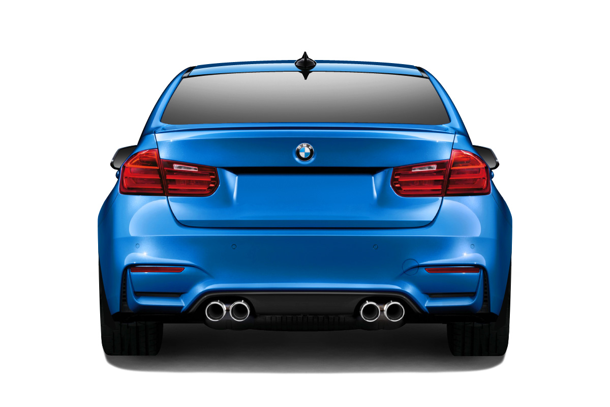2012 2016 bmw 3 series f30 couture m3 look rear bumper body kit ebay. Black Bedroom Furniture Sets. Home Design Ideas
