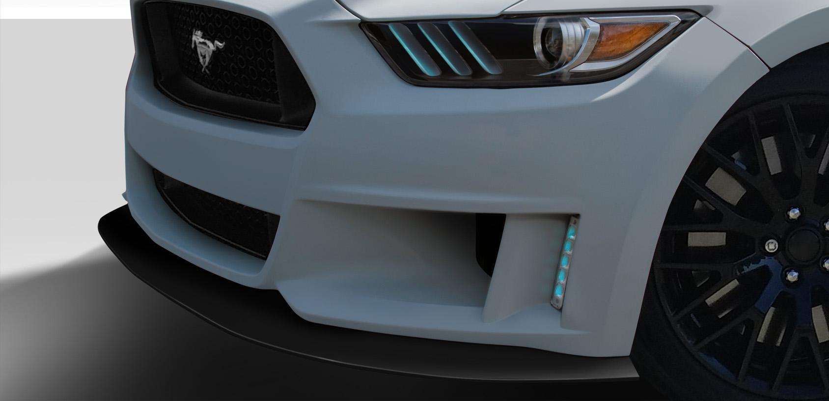 2015-2017 Ford Mustang Duraflex Grid Front Lip
