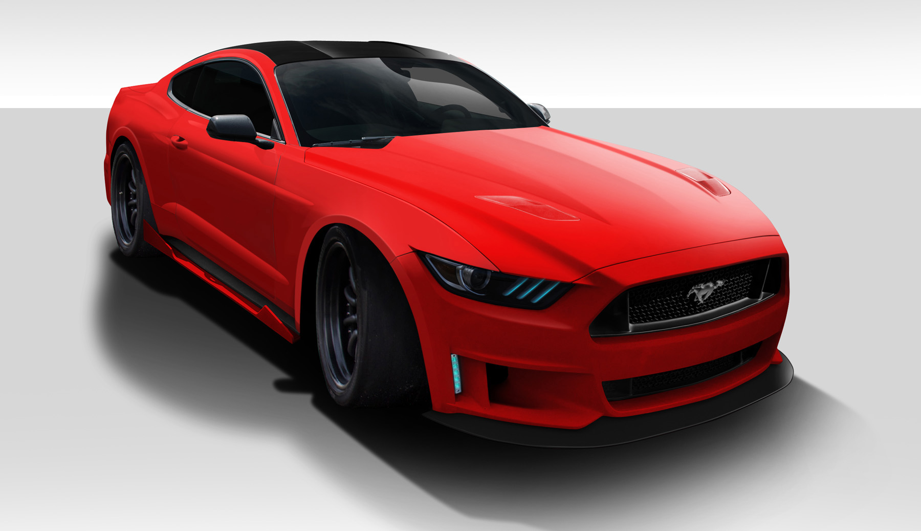 Welcome To Extreme Dimensions Item Group 2017 Ford Mustang Duraflex Grid Body Kit 5 Piece