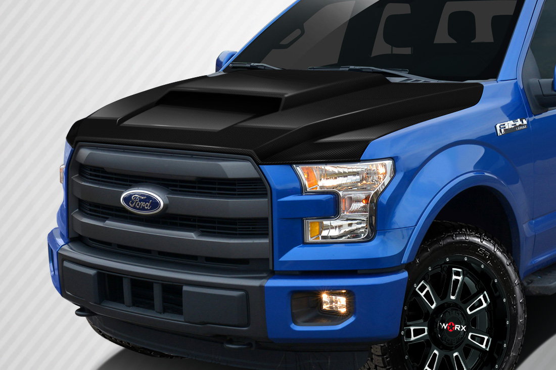 2015-2019 Ford F-150 Carbon Creations Grid Hood