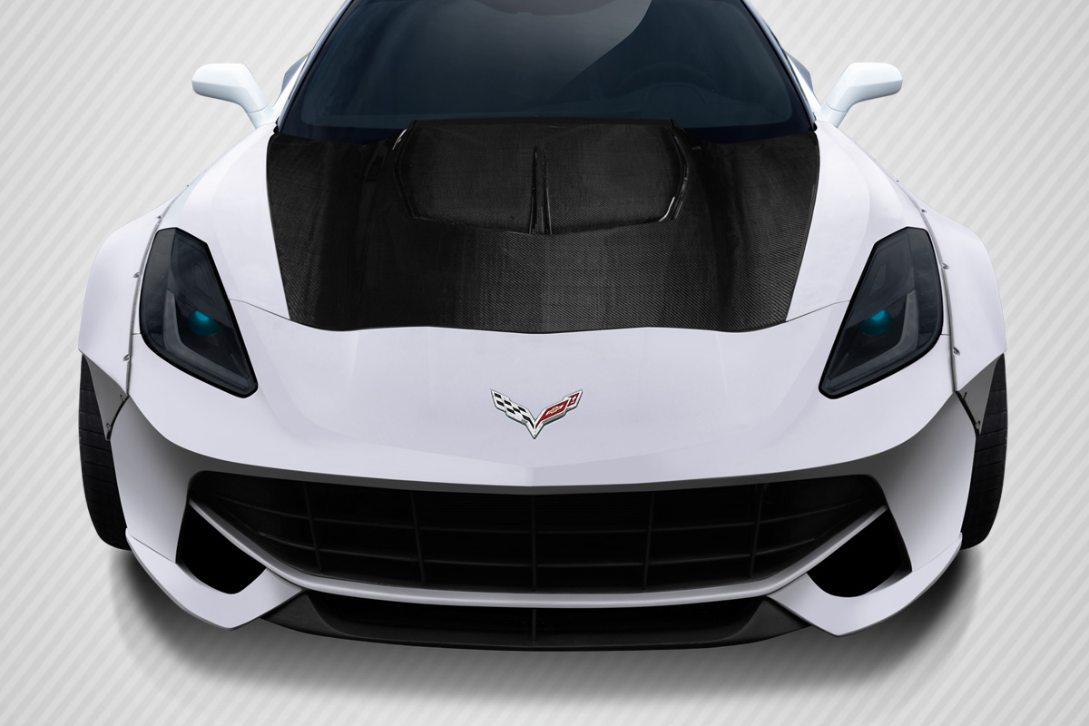 2014-2015 Chevy Corvette C7 Carbon Creations Gran Veloce Hood