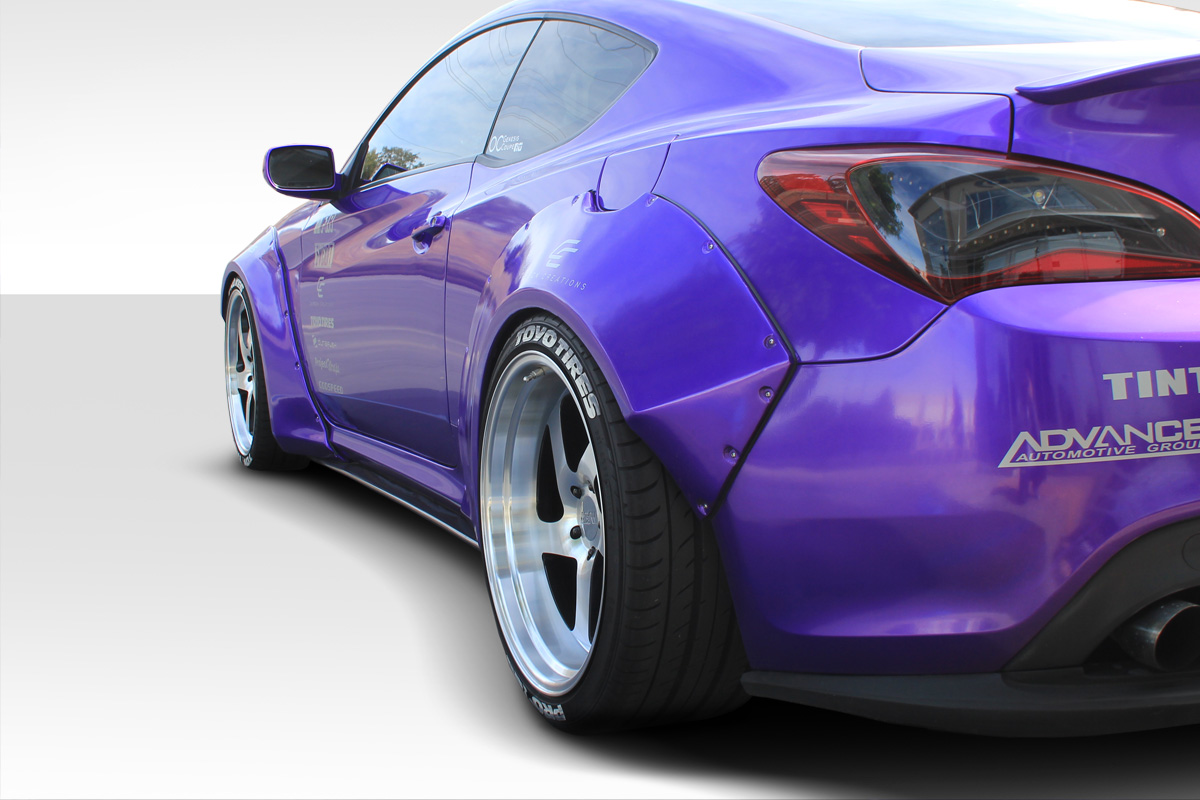 Welcome To Extreme Dimensions Inventory Item 2010 2016 Hyundai Genesis Coupe 2dr Duraflex