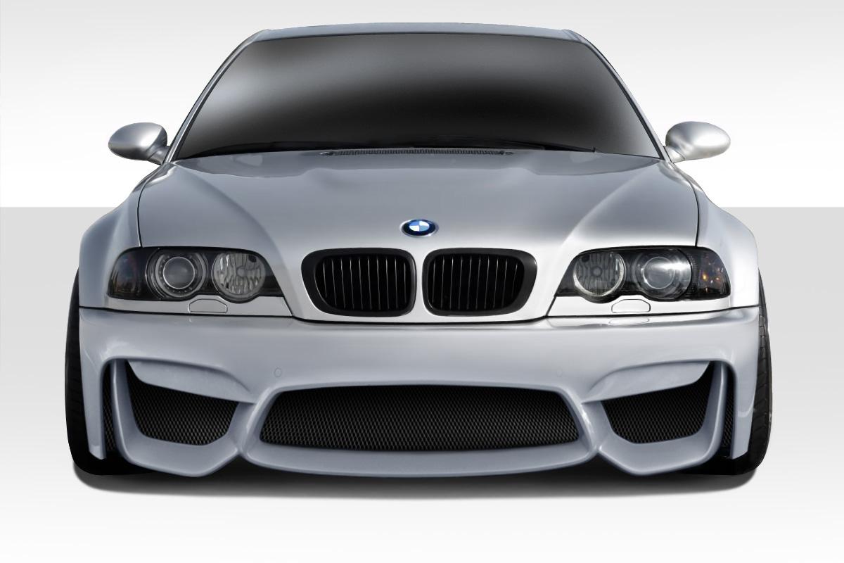 Bmw M3 E46 01 06 Duraflex M4 Look Front Bumper Ebay