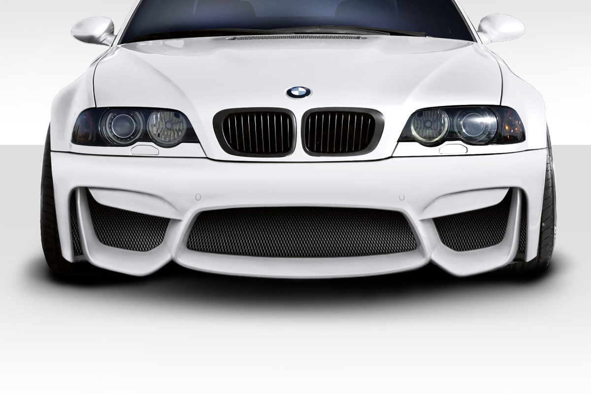 1999 2006 bmw 3 series e46 duraflex m4 look front bumper. Black Bedroom Furniture Sets. Home Design Ideas