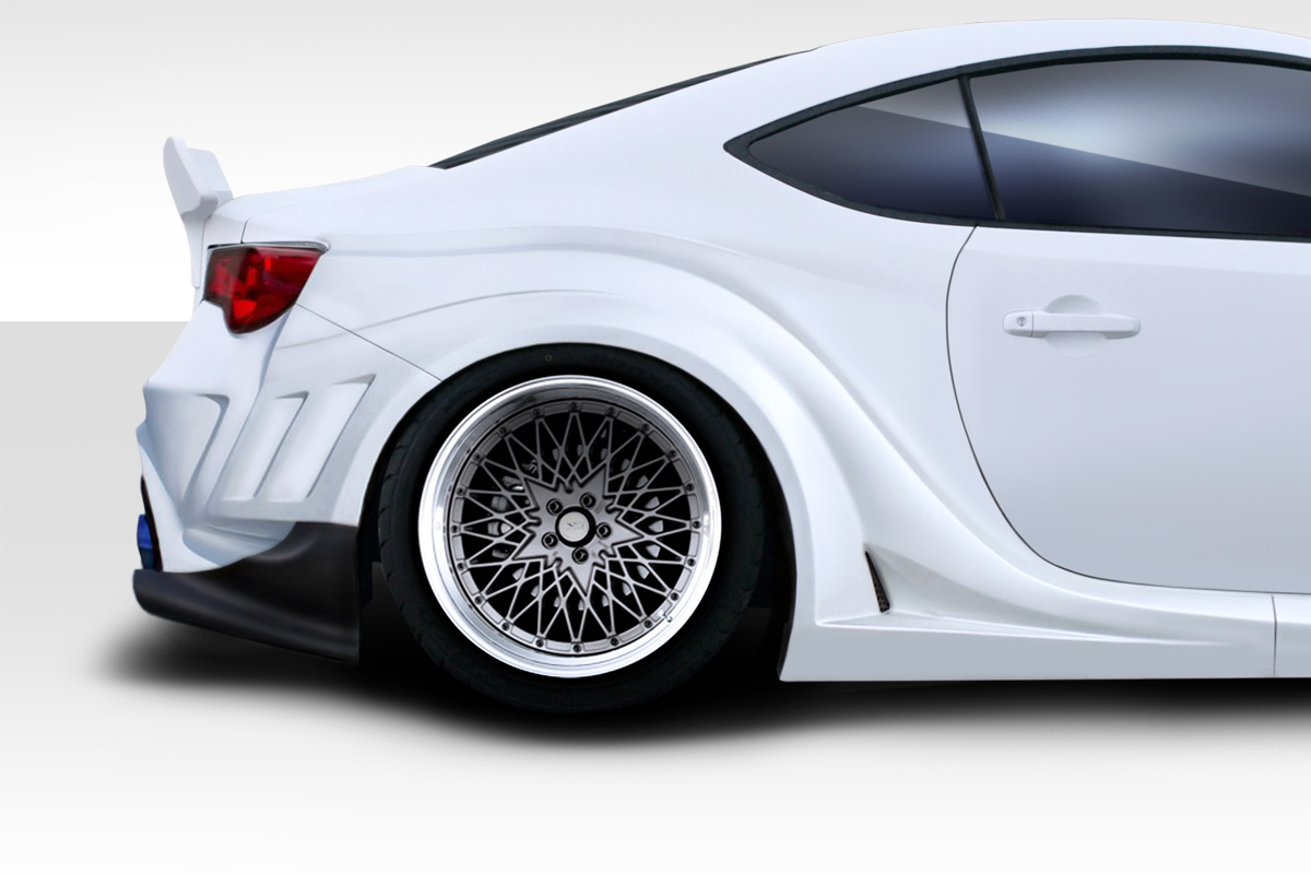 fit 2013 2015 scion fr s duraflex vr s wide body rear. Black Bedroom Furniture Sets. Home Design Ideas