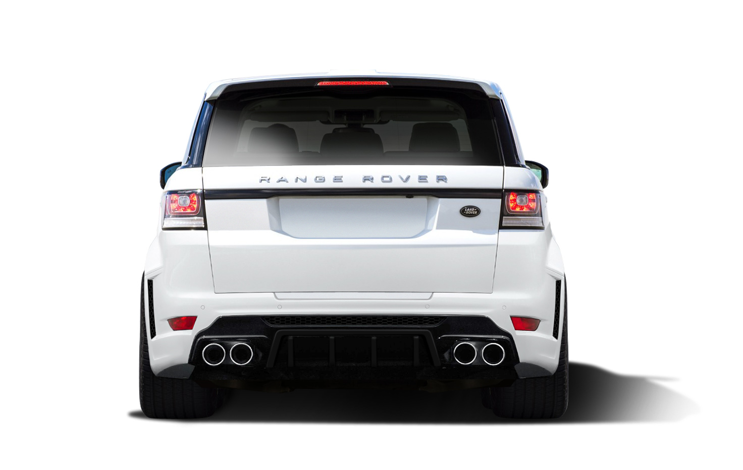 Polyurethane Rear Bumper Body Kit For 2015 Land Rover Range Rover