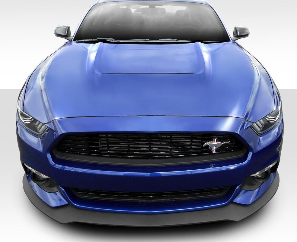 2015 Ford Mustang Fiberglass Hood Body Kit 2015 2017 Ford Mustang