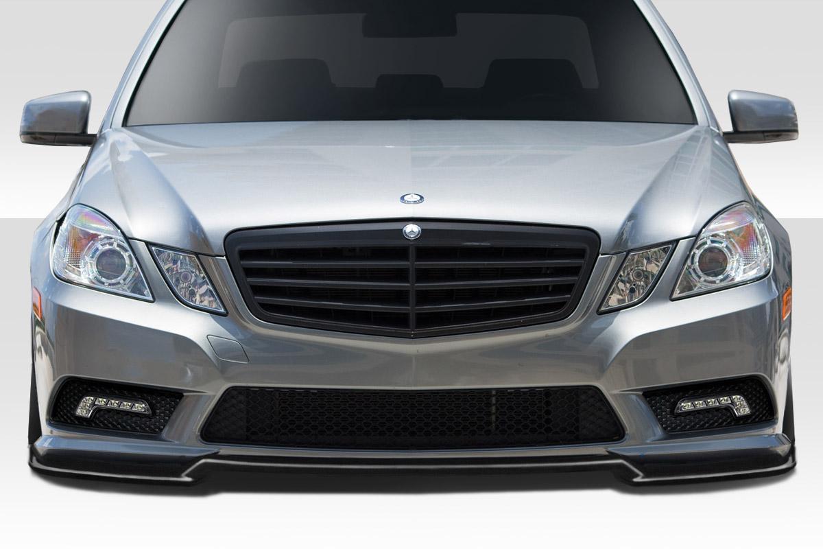 112764 10-12 Mercedes E Class 4DR BR-S Duraflex Front Bumper Lip Body Kit!!