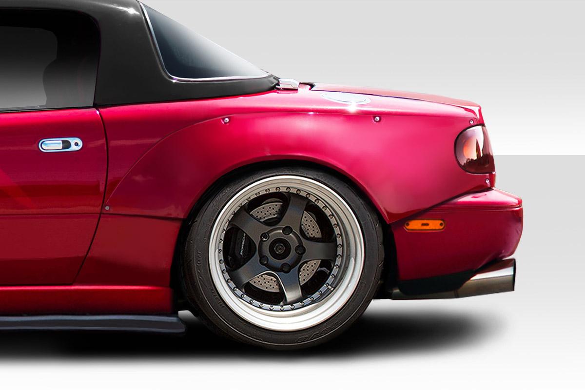 90 97 Mazda Miata Circuit Duraflex Rear Fender Flares