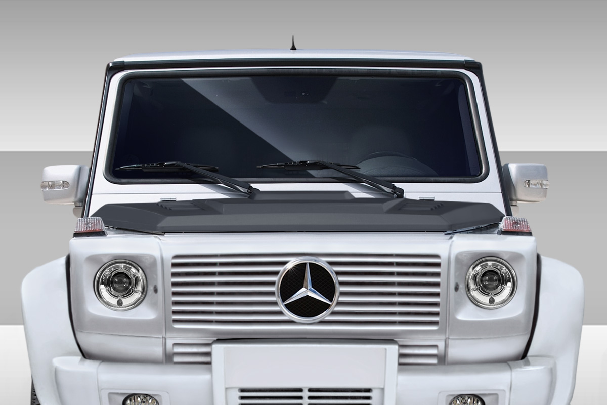 fiberglass hood body kit for 2005 mercedes g class 2000 2010 mercedes g class w463 eros. Black Bedroom Furniture Sets. Home Design Ideas