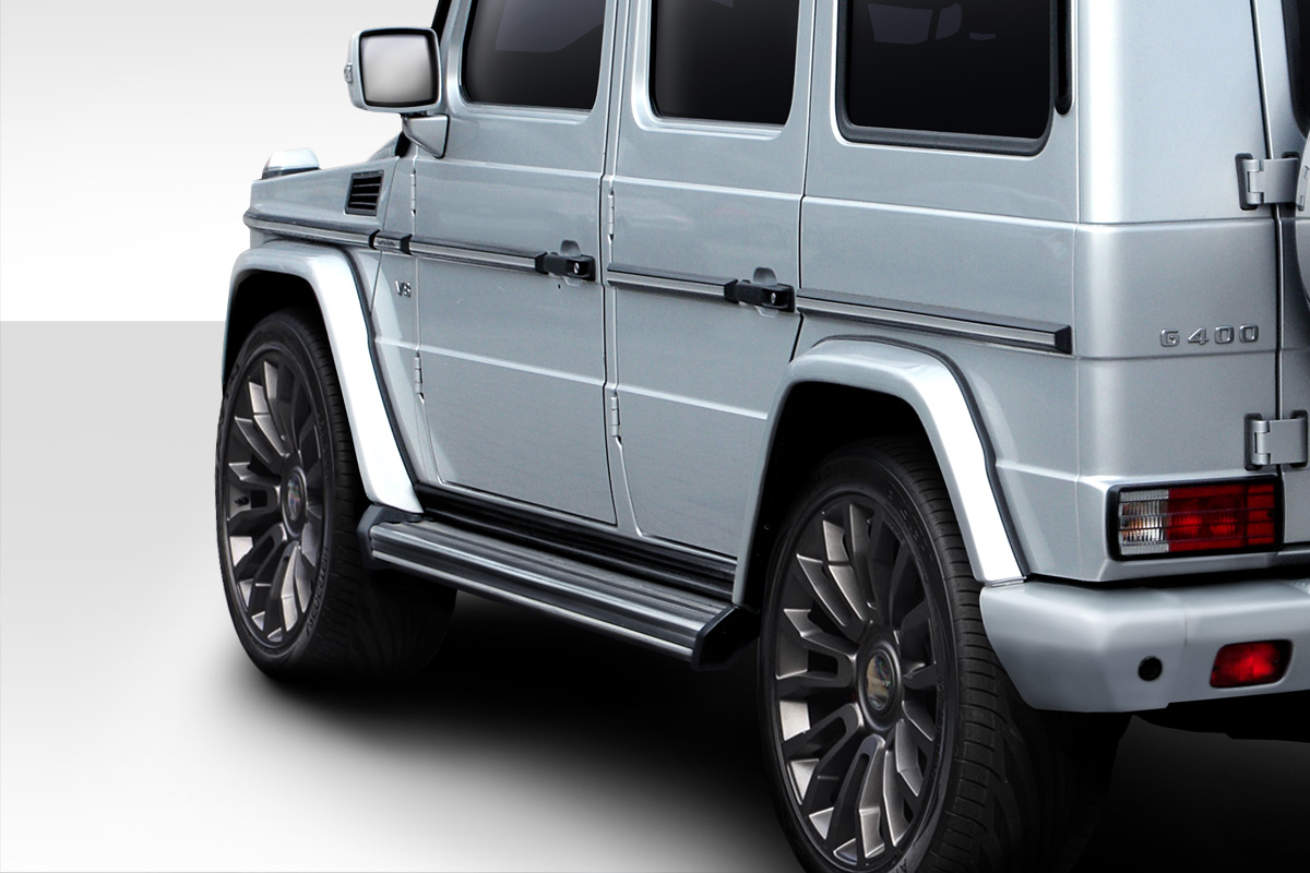 00 10 mercedes g class eros version 3 duraflex fender for Mercedes benz g class accessories