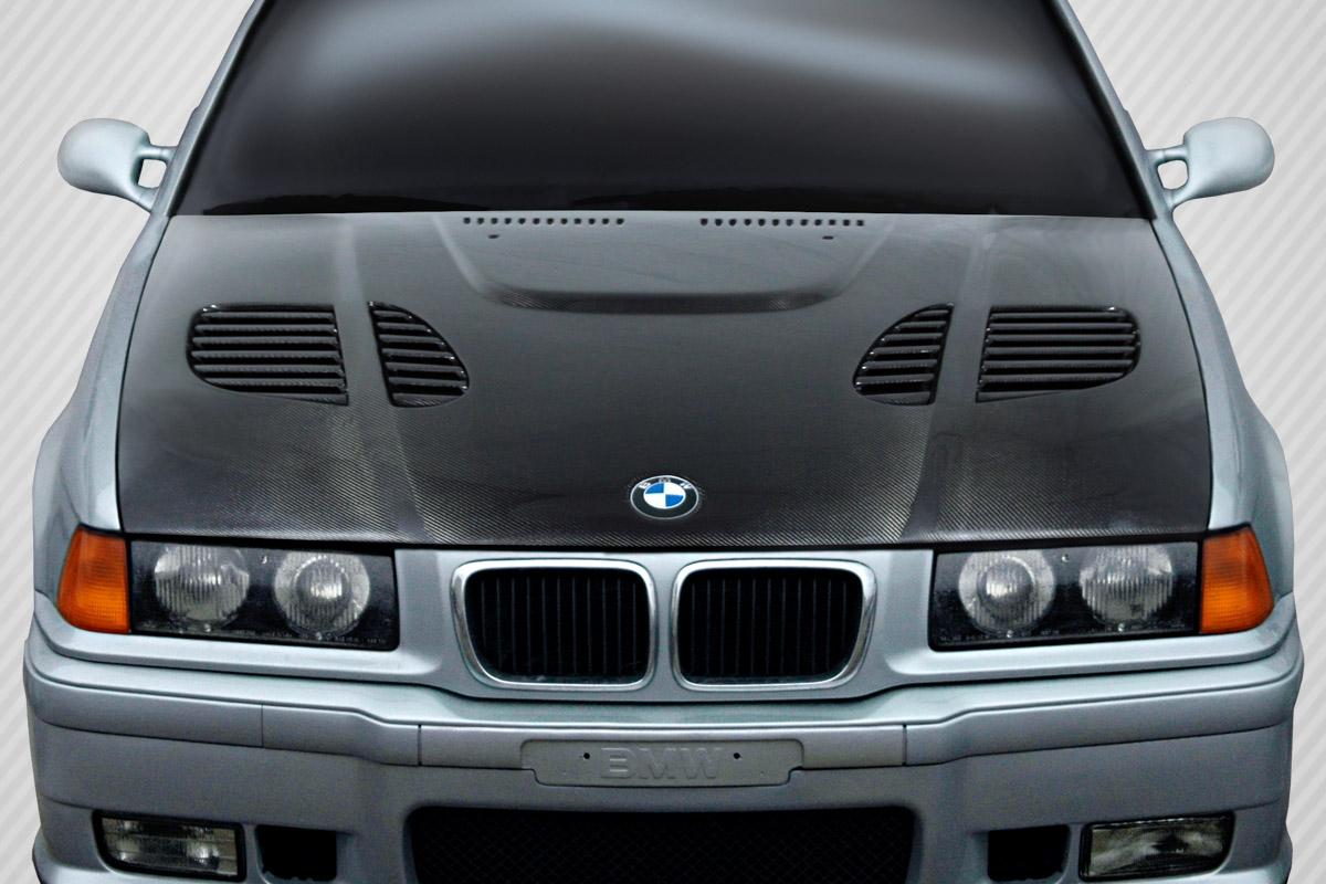 Details About Bmw 3 Series M3 E36 4dr 92 98 Carbon Creations Dritech Carbon Fiber Gtr Hood
