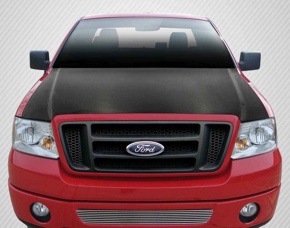 04 08 ford f150 oem dritech carbon fiber body kit hood 112931 ebay. Black Bedroom Furniture Sets. Home Design Ideas