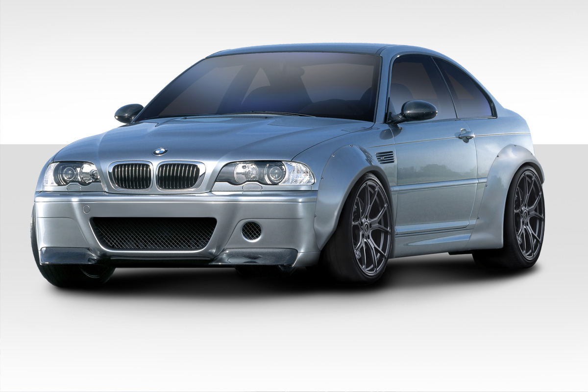 2001 2006 bmw m3 e46 duraflex circuit 50mm fender flares. Black Bedroom Furniture Sets. Home Design Ideas