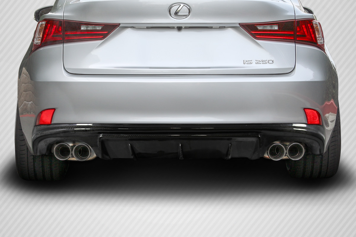 Welcome To Extreme Dimensions :: Inventory Item :: 2014 2015 Lexus IS  Series IS350 IS250 Carbon Creations AM Design Style Rear Diffuser   1 Piece  ( F Sport ...