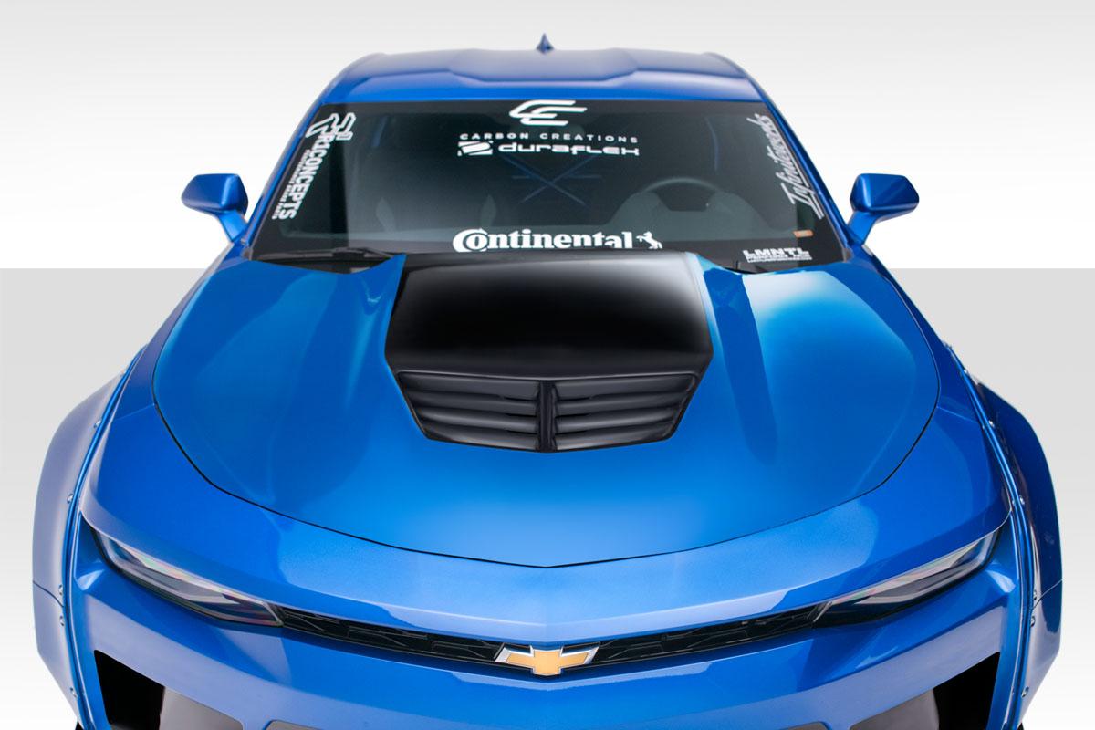 2016-2018 Chevy Camaro Duraflex Grid Hood