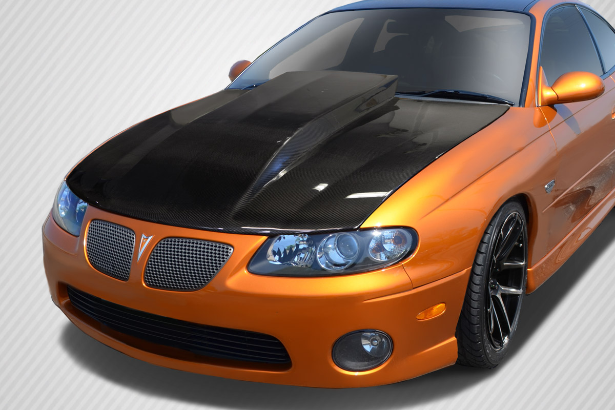 Welcome to Extreme Dimensions :: Inventory Item :: 2004-2006 Pontiac GTO Carbon Creations Cowl ...