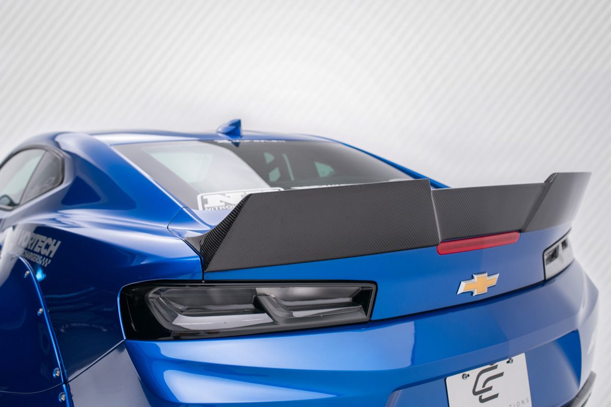 2016-2018 Chevy Camaro Carbon Creations DriTech Grid Rear Wing Spoiler