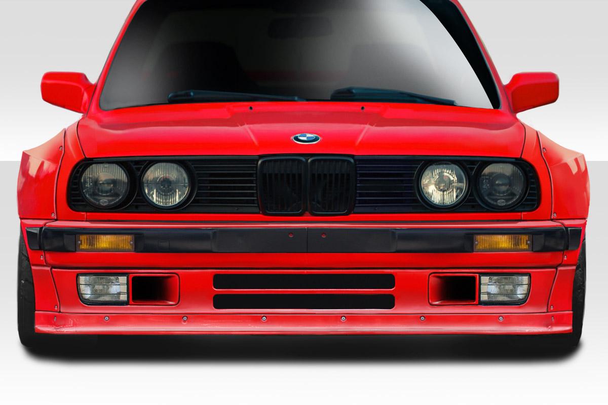 84 91 Bmw 3 Series E30 Duraflex Tko Front Lip 113223