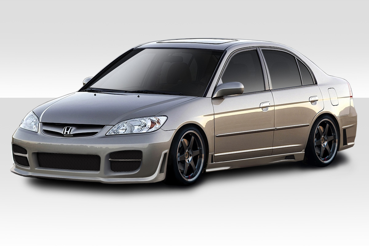 04-05 Honda Civic 4DR R34 Duraflex Full Body Kit!!! 110337