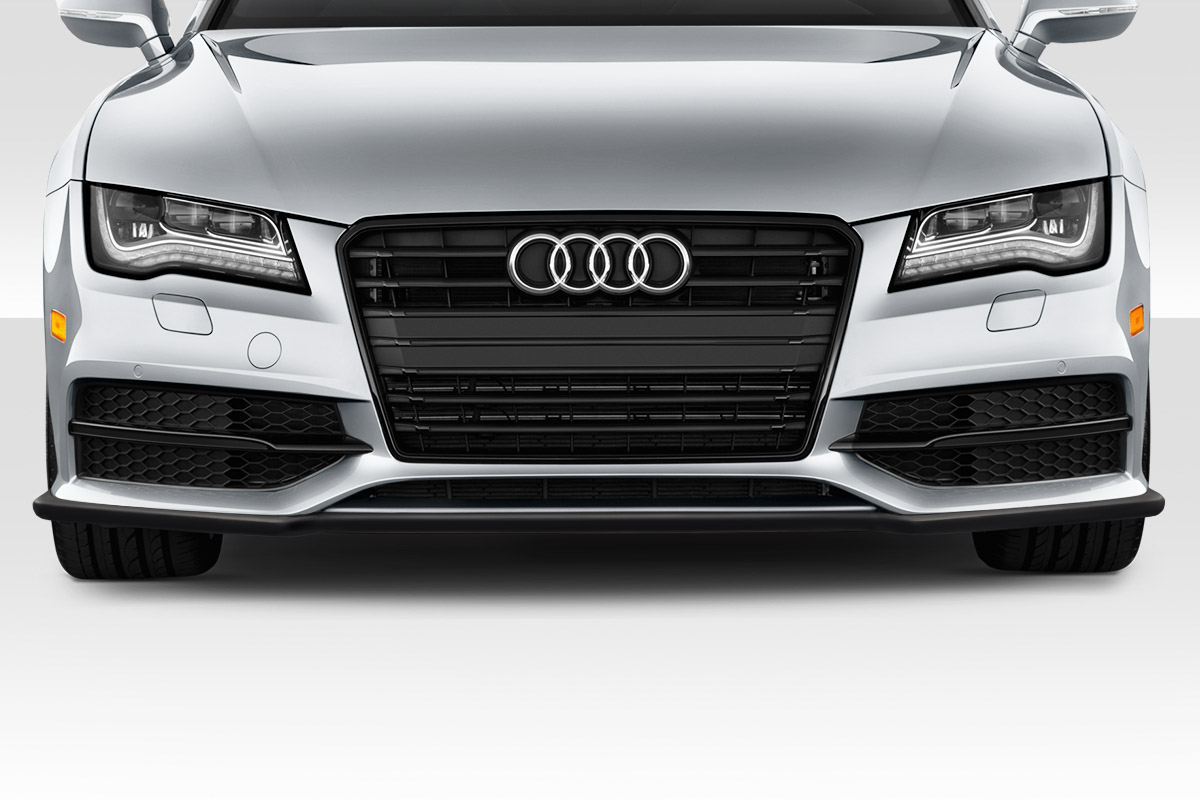 2012 audi a7 fiberglass front lip add on body kit 2012 for A7 auto pieces jardin
