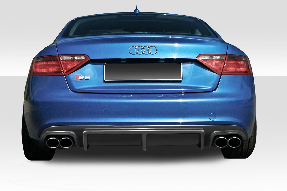 2012 2016 audi s5 duraflex sm g rear diffuser 1 piece. Black Bedroom Furniture Sets. Home Design Ideas