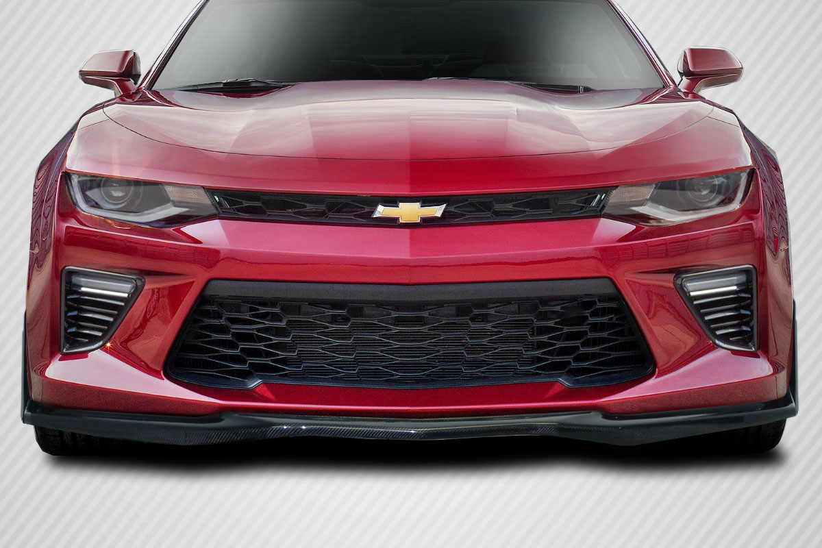 1 Piece Carbon Creations Replacement for 2016-2018 Chevrolet Camaro V8 GM-X Front Lip