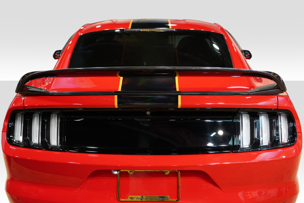 Wing Spoiler Body Kit For 2017 Ford Mustang 0 2015 2018 Ford