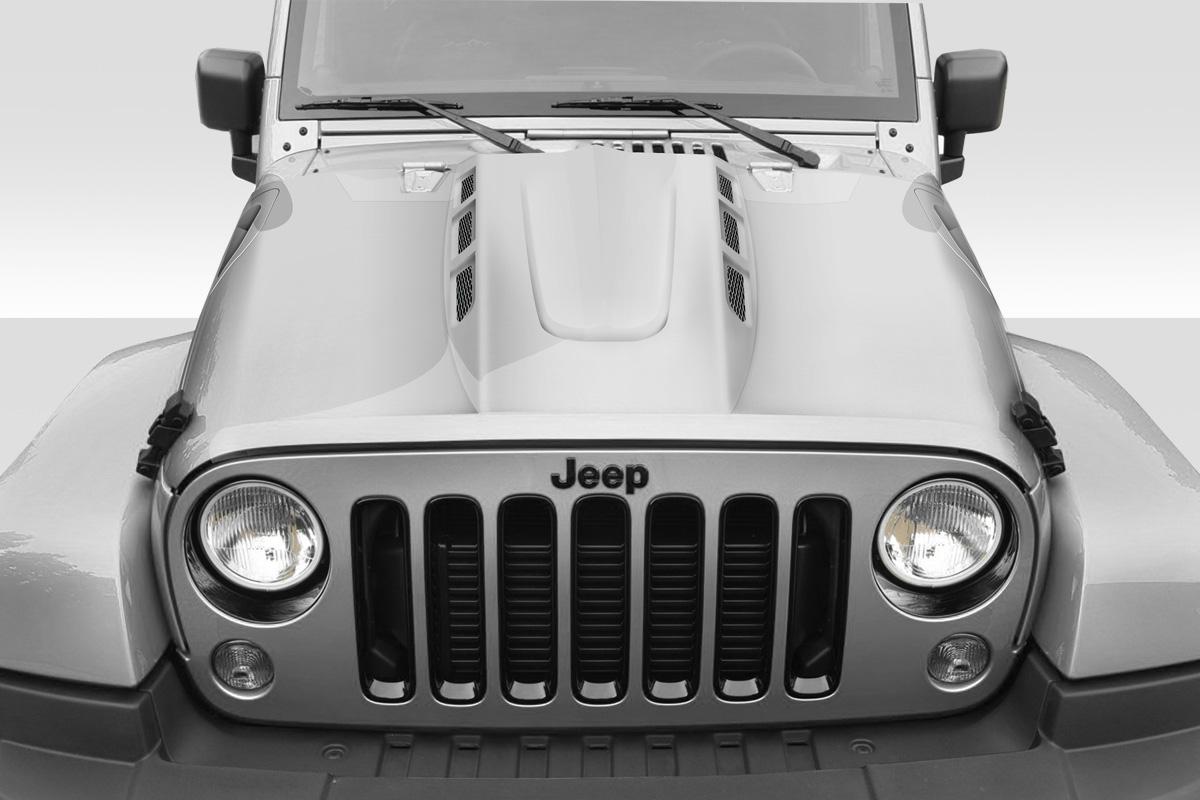 2007-2017 Jeep Wrangler Duraflex AVG Heat Expulsion Hood