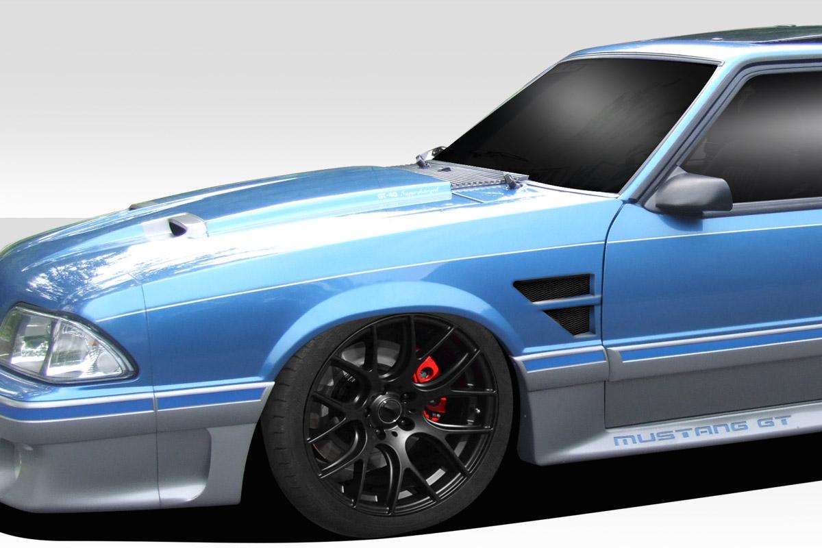 1987-1993 Ford Mustang Duraflex D1 Front Fenders