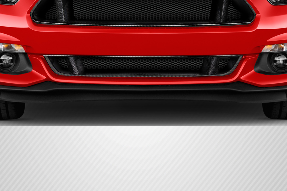 2015-2017 Ford Mustang Carbon Creations Lower CVX Grille