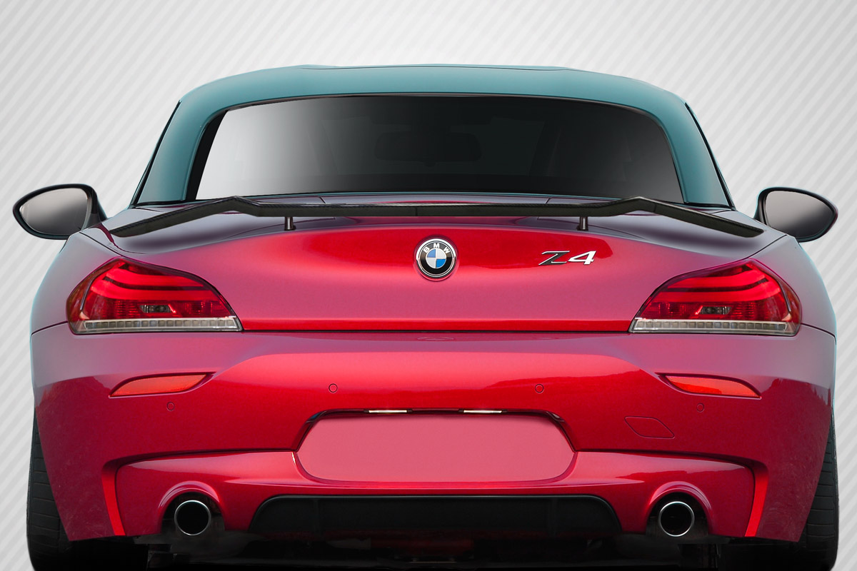 09 16 Bmw Z4 Tkr Carbon Fiber Creations Body Kit Wing