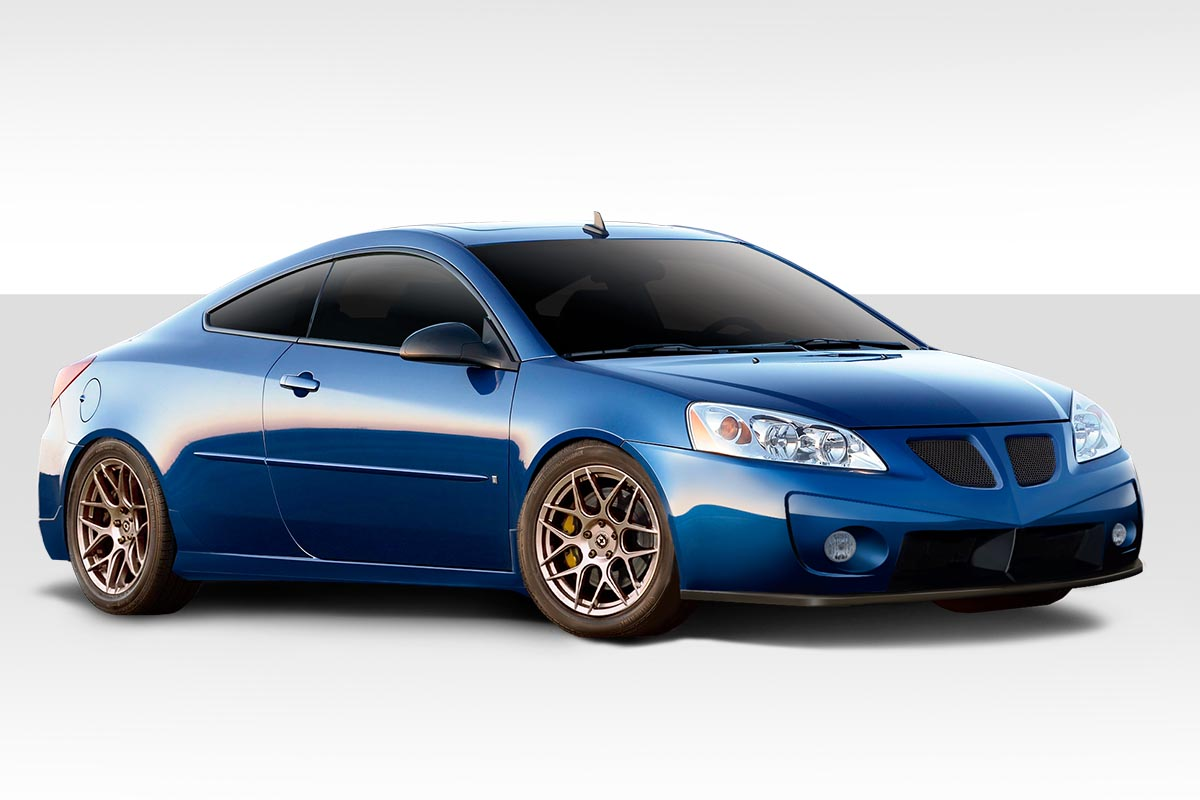 2005 Pontiac G6 0 Kit Body Kit - 2005-2010 Pontiac G6 2DR Duraflex GT Competition Body Kit- 4 Piece - Includes GT Competition Front Bumper Cover (106067) GT Competition Side Skirts Rocker Panels (113469) GT Competition Rear Bumper Cover (113470)