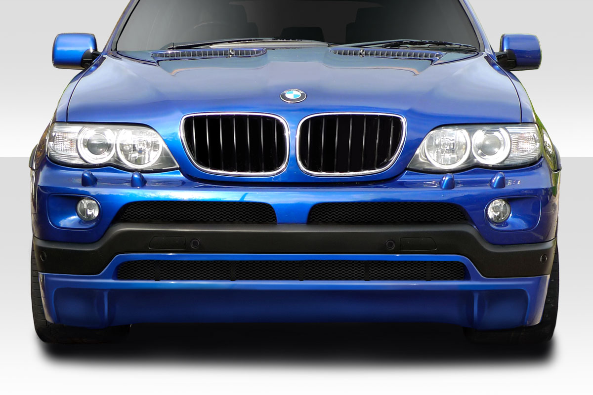 2000 2006 bmw x5 duraflex look front lip spoiler 1 piece xsv custom auto. Black Bedroom Furniture Sets. Home Design Ideas