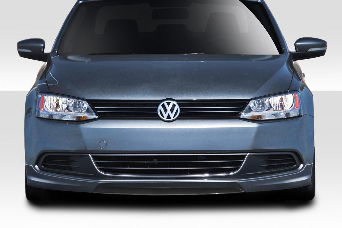 2011-2014 Volkswagen Jetta Duraflex Votex Look Front Lip - 1 Piece