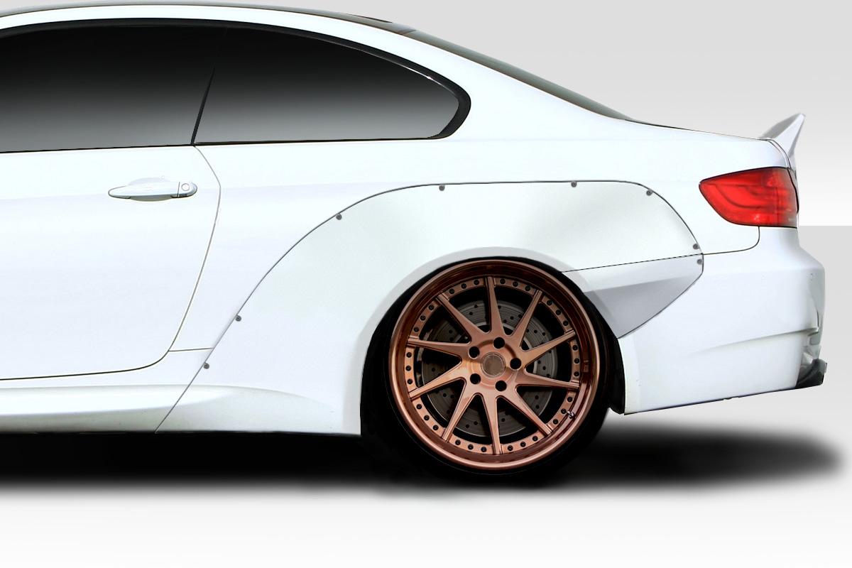 Fiberglass+ Fender Flare Body Kit for 2011 BMW 3 Series 2DR - 2007-2013 BMW  3 Series E92 2dr E93 Convertible Duraflex Circuit Wide Body Rear Fender