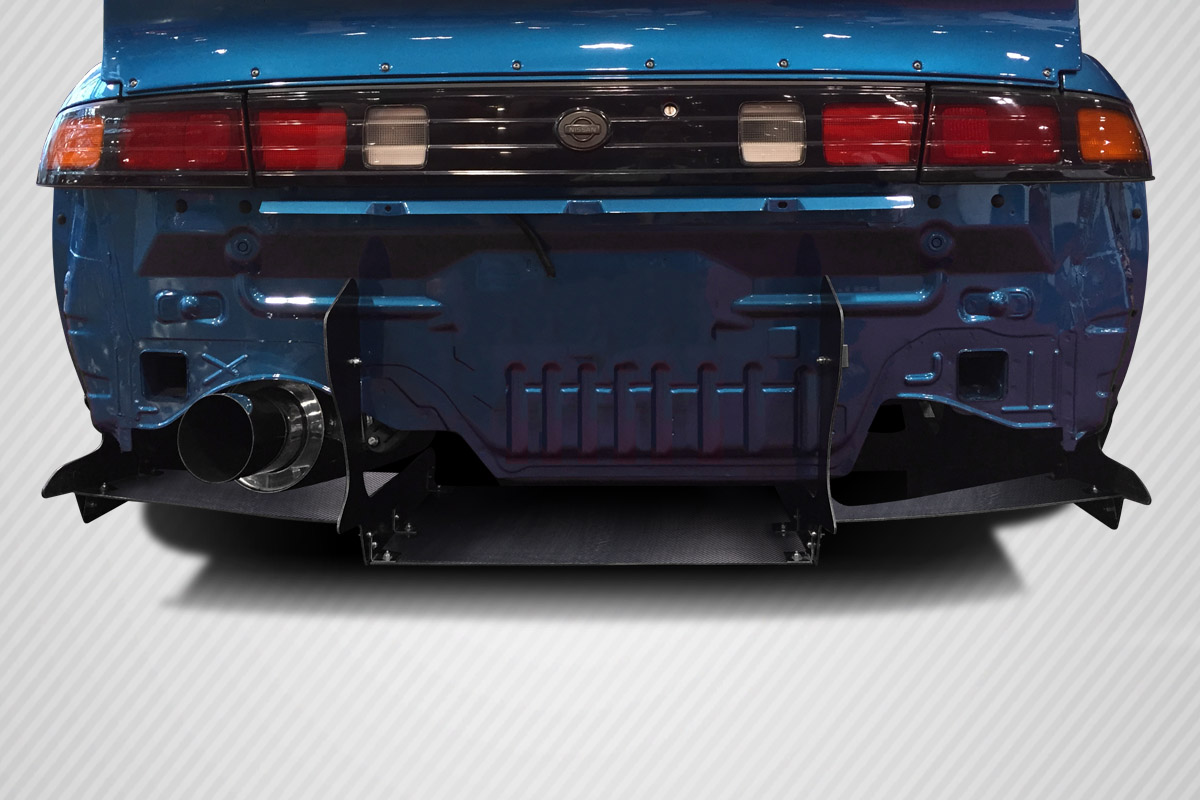 1995-1998 Nissan 240SX S14 Carbon Creations RBS V2 Wide Body Rear Diffuser