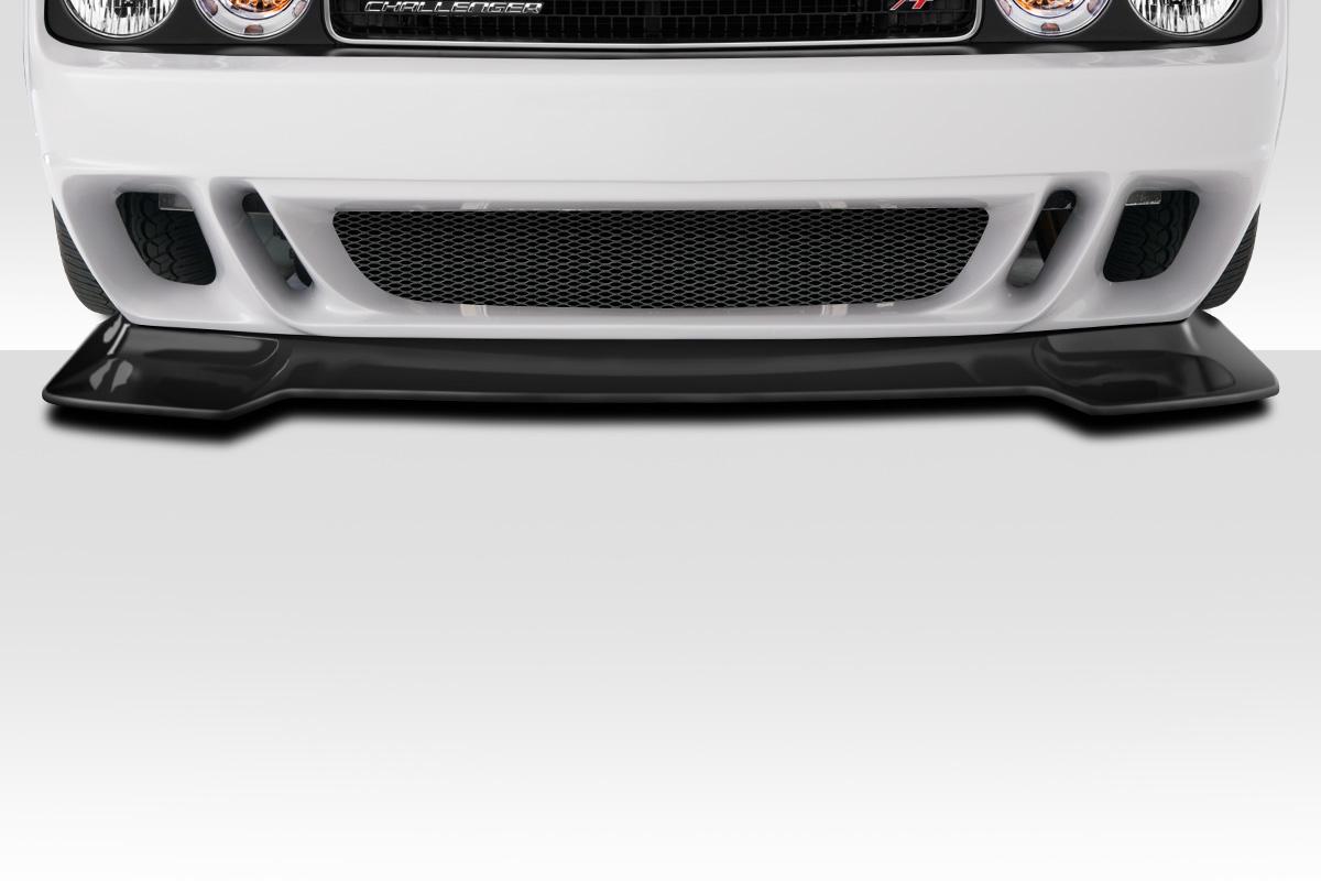 2014 Dodge Challenger 0 Front Lip Add On Body Kit 2008 2019 Dodge Challenger Duraflex Circuit Front Lip 1 Piece Xsv