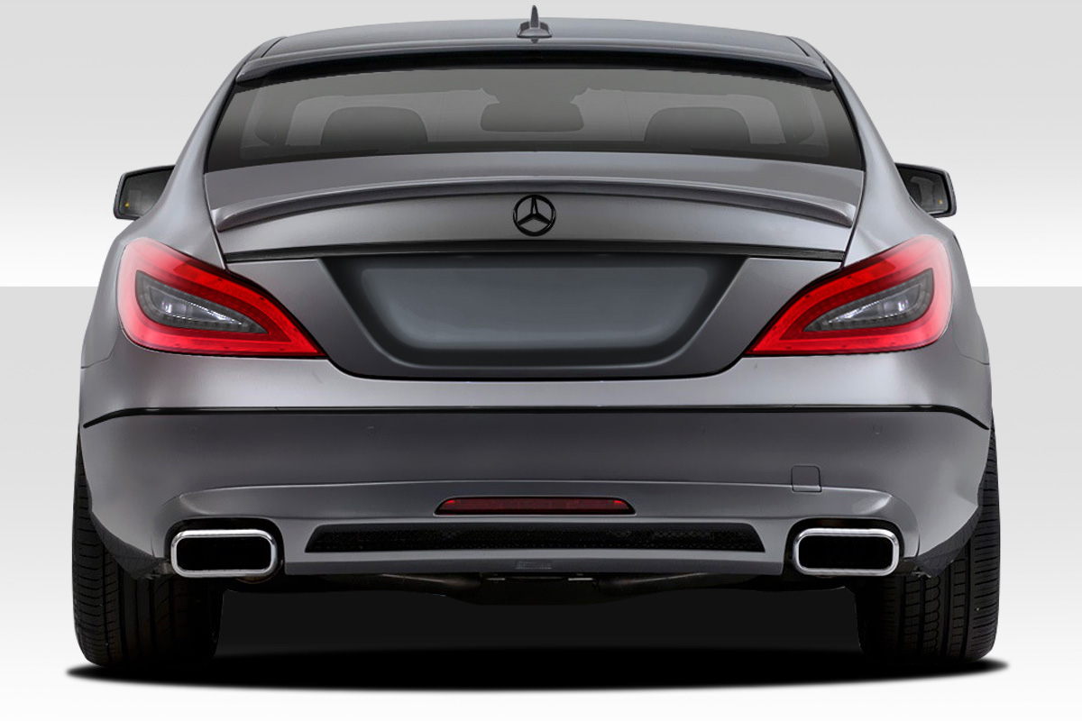 2014 mercedes cls fiberglass rear bumper body kit 2012 2015 mercedes cls class c218 w218. Black Bedroom Furniture Sets. Home Design Ideas