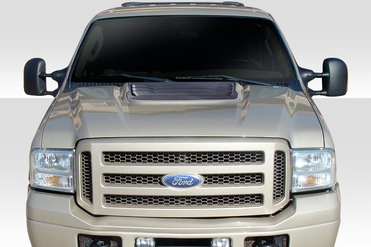 99 07 Ford Super Duty Excursion Raptor Look Duraflex Body Kit Hood 114068 Ebay